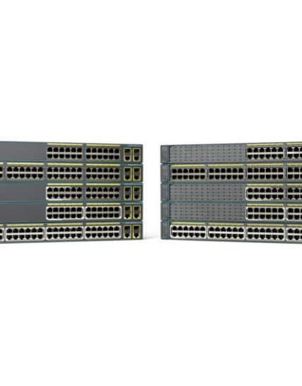 Cisco Catalyst 2960-Plus 48PST-L - 48 Ports