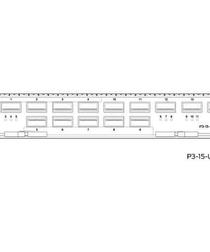 Juniper Networks - P3-15-U-QSFP28
